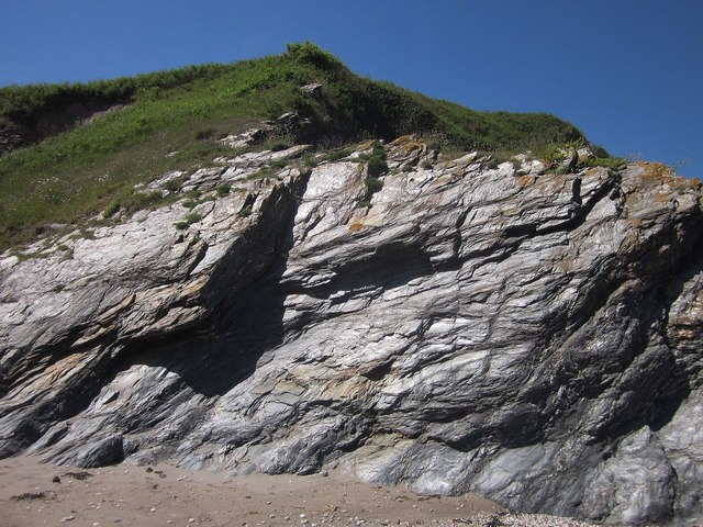 Cliff, Scabbacombe Sands