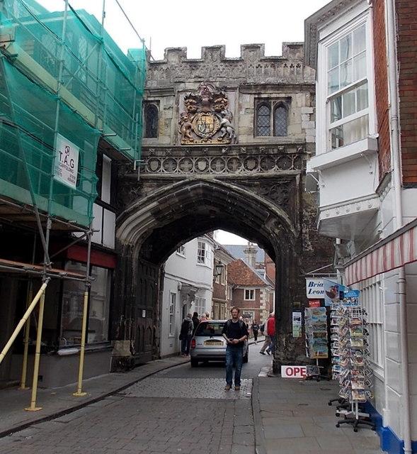 North side of North Gate, Salisbury