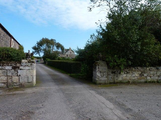 Vicarsford farmhouse