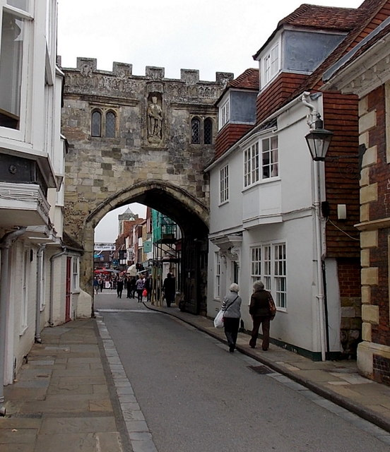 South side of North Gate, Salisbury