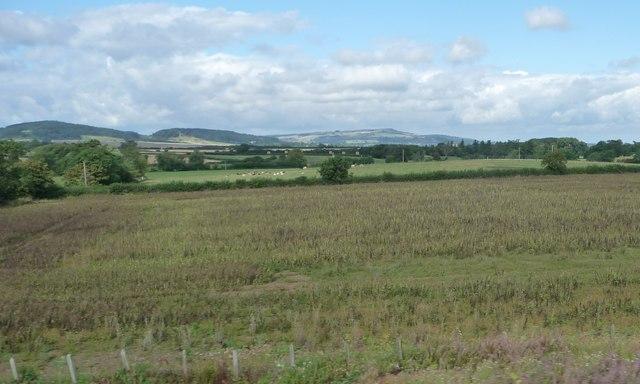 Farmland south of Berry Wormington