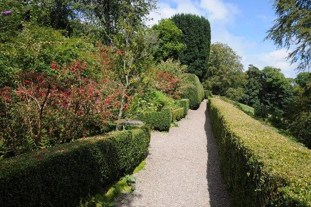 Gardens at Plas yn Rhiw