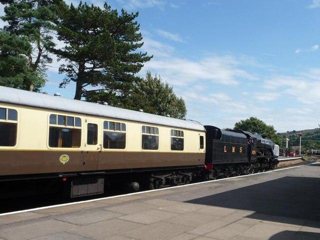 Northbound train, Winchcombe Station