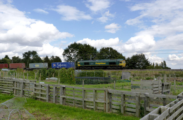 Freightliner passing the allotments