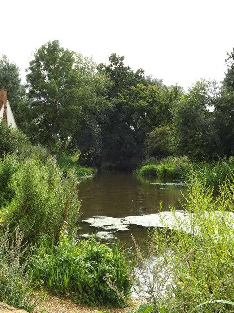 Mill Pond at Flatford Mill