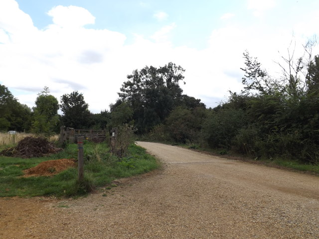 Track near Willy Lott's House