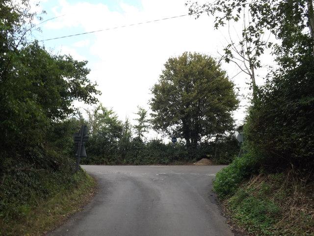 Lane at Flatford