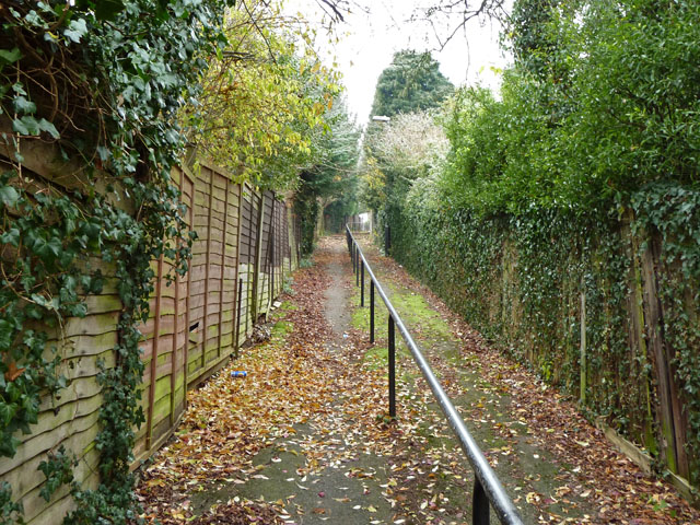 Croydon footpath 104