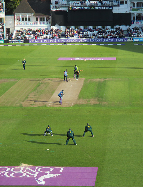 Trent Bridge: a cup quarter-final