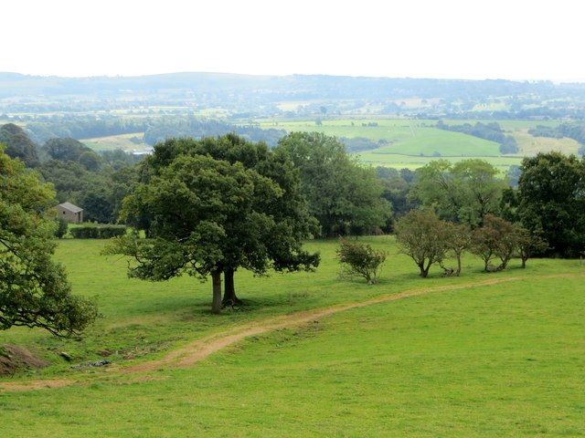 Farmland on Duddel Hill