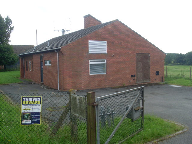 Telephone Exchange, Bruntingthorpe