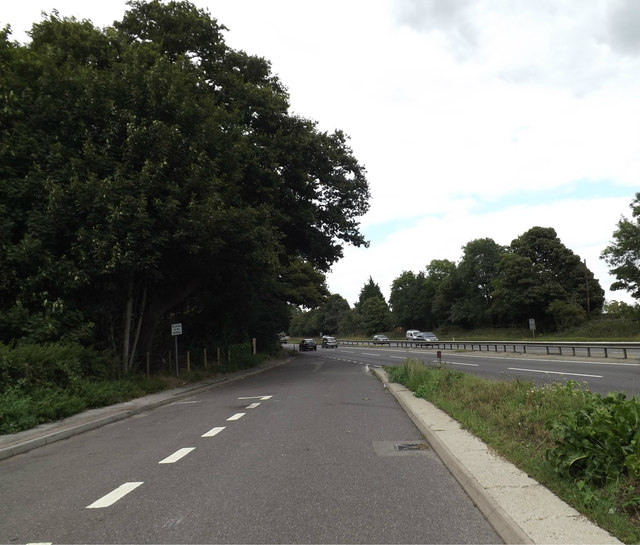 Layby on the A12 Ipswich Road