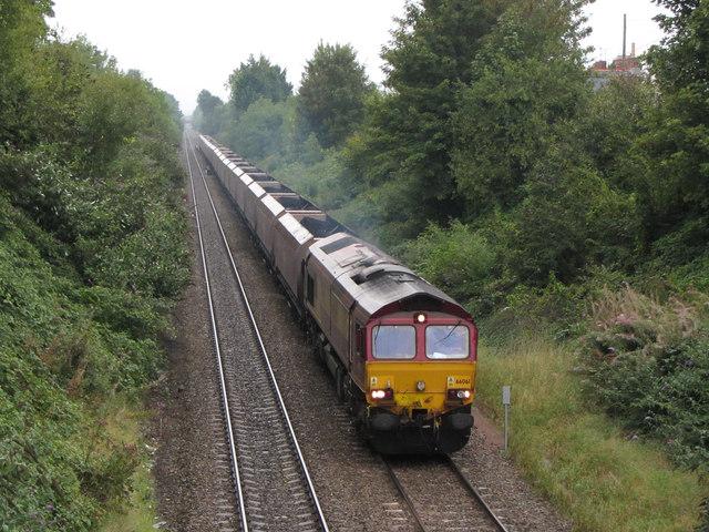 Coal train in Roath
