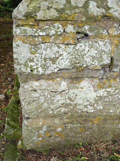 Bench mark, St Giles's Church, Darlton