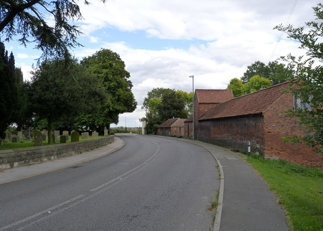 A57 passing Hall Farm