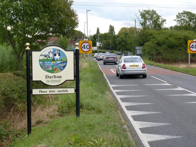 Darlton village sign