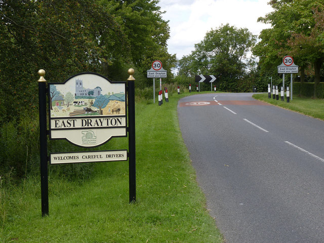 East Drayton village sign