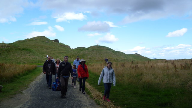 Approaching Northumberlandia