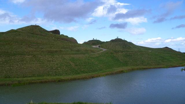 Looking towards Northumberlandia