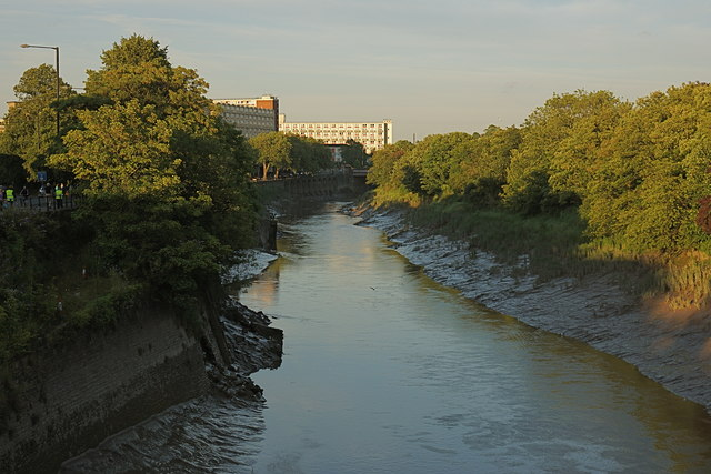 The Cut at evening