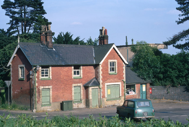 Wheathampstead railway station (disused)