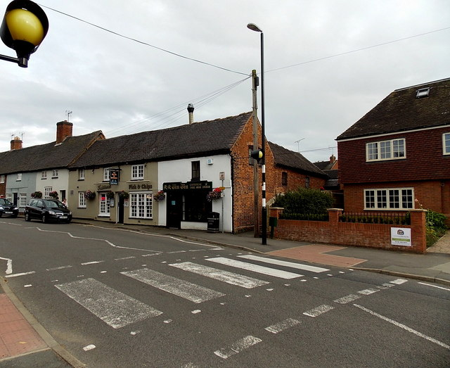 Zebra crossing in Station Road,  Market Bosworth