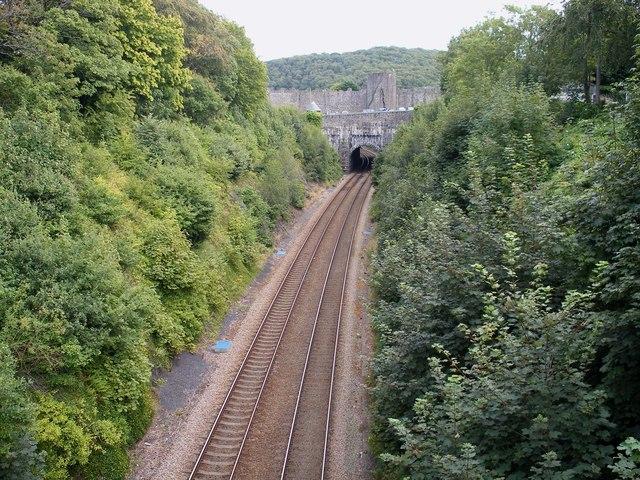 Bridge over the Chester to Holyhead railway