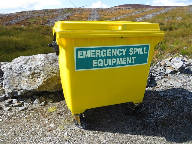 Spill kit, Griffin wind farm