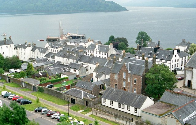 Inverarary from the bell tower