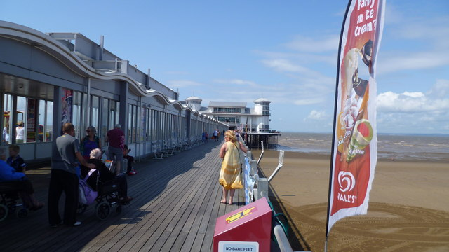 On the Grand Pier, Weston-super-Mare
