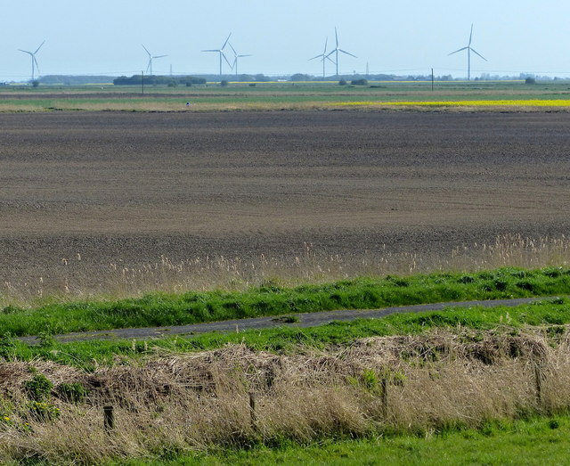 View south across Pinchbeck South Fen