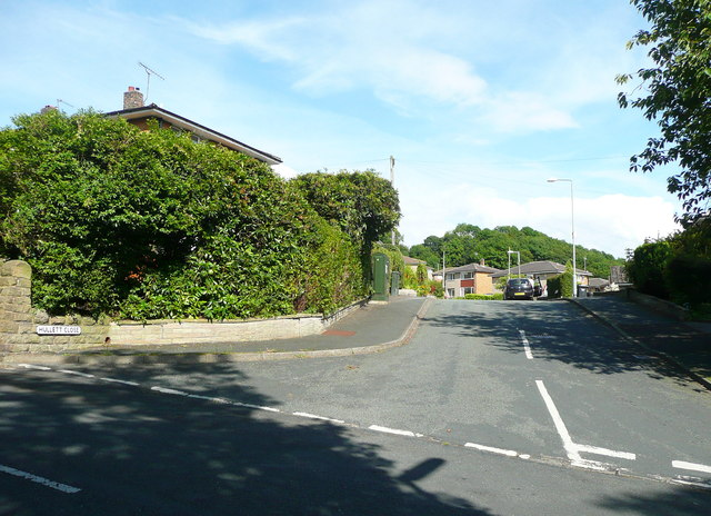 Hullett Close off Midgley Road