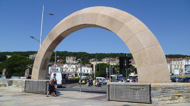 Arch at Weston-super-Mare