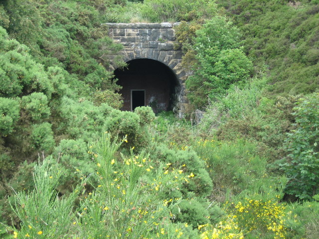 The tunnel mouth at Ravenscar