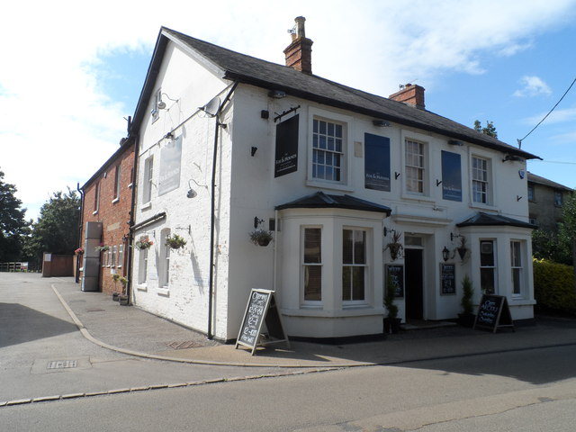 The Fox and Hounds pub, Whittlesbury