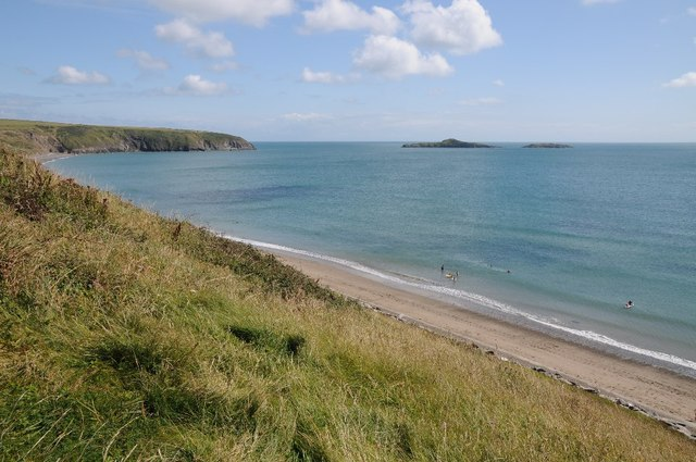 The coast at Aberdaron