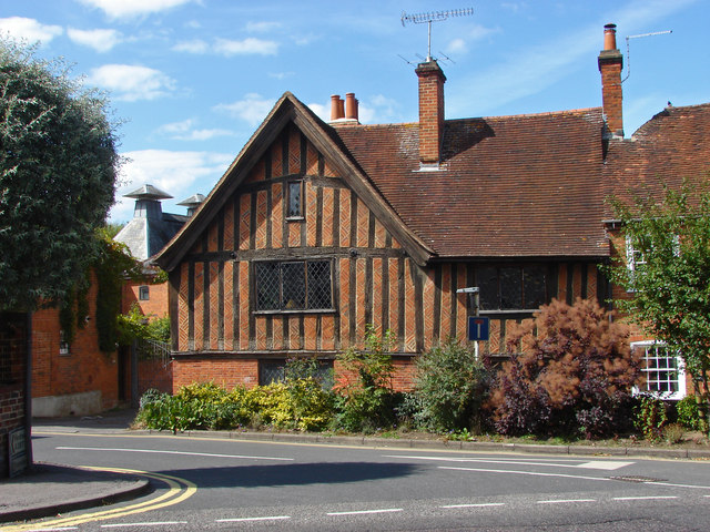 Old house by The Maltings, Farnham