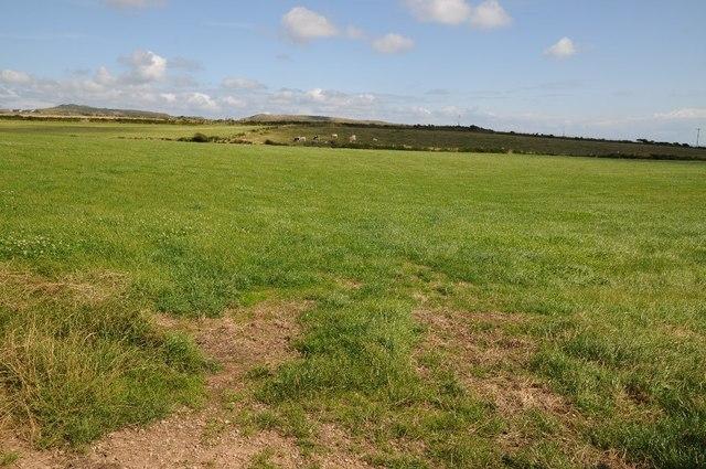 Farmland near Llanfaelrhys