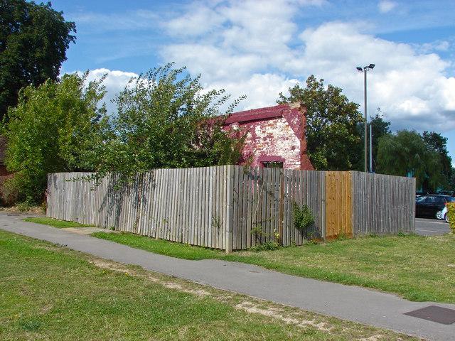 Former pavilion, Farnham recreation centre