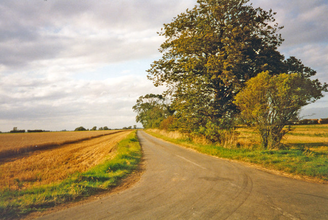 Typical Lincolnshire, near Heckington 1993