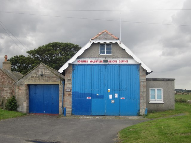 Boulmer Volunteer Rescue Service building