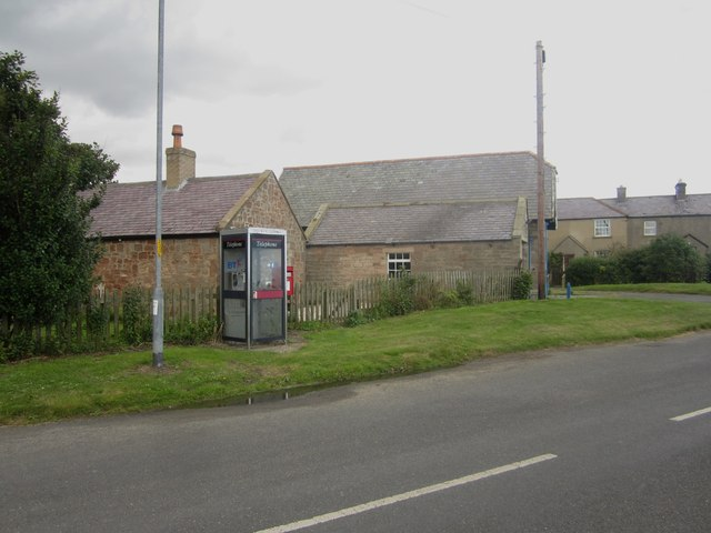 Telephone box and postbox, Boulmer