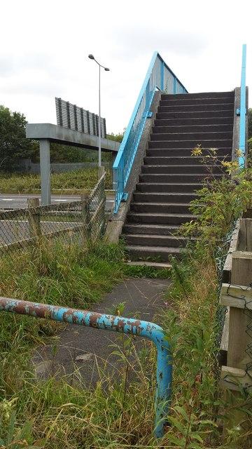 Bridge over A666