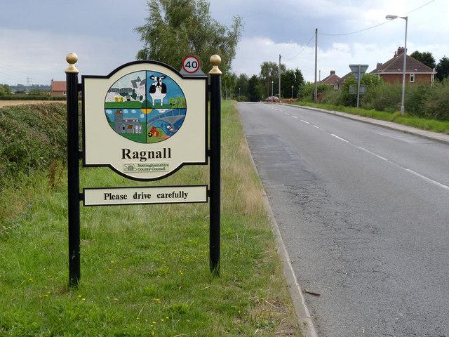 Ragnall village sign