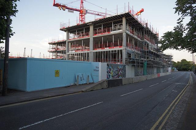 Wapping Wharf development