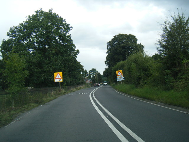 A49 near North Lodge
