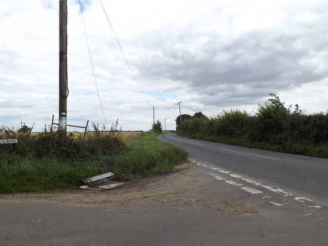 B1068 near Higham