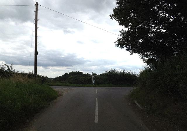 Sandpits Lane, near Higham
