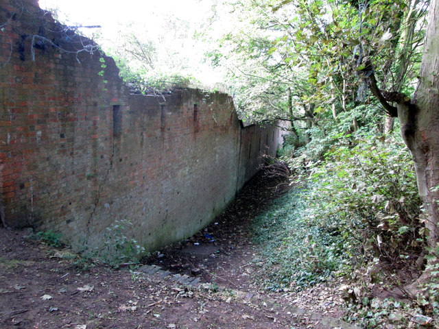 This  corner  of  Fort  Paull  is  showing  its  age