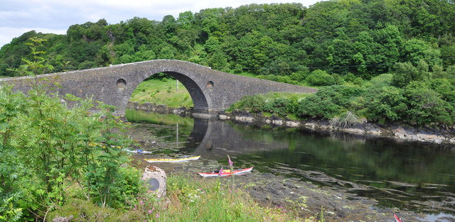 The Clachan Bridge